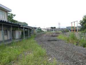 架線・レール・枕木・車両・・・全てが消えてしまった常北太田駅