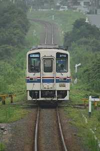 茨城交通キハ3710-02(123列車・平磯-磯崎)
