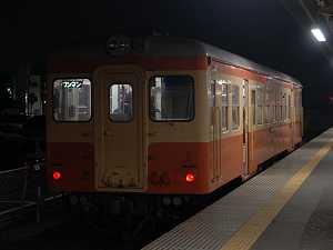 久々に会えた茨城交通キハ205(国鉄色)