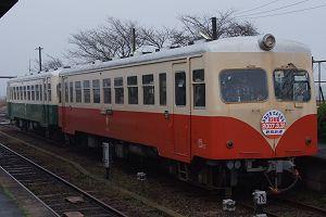 キハ432+キハ431の2連[28列車・常陸小川]乗車は今日が最後になるか(3/25)