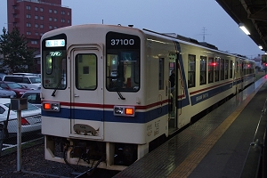 新学期が始まり、夕方の運行でも新型車の2連が登場(4/11)