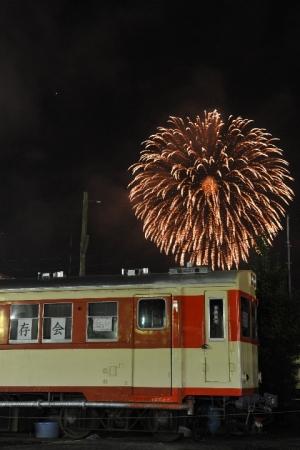 2009年8月、鉾田駅跡地でのキハ601